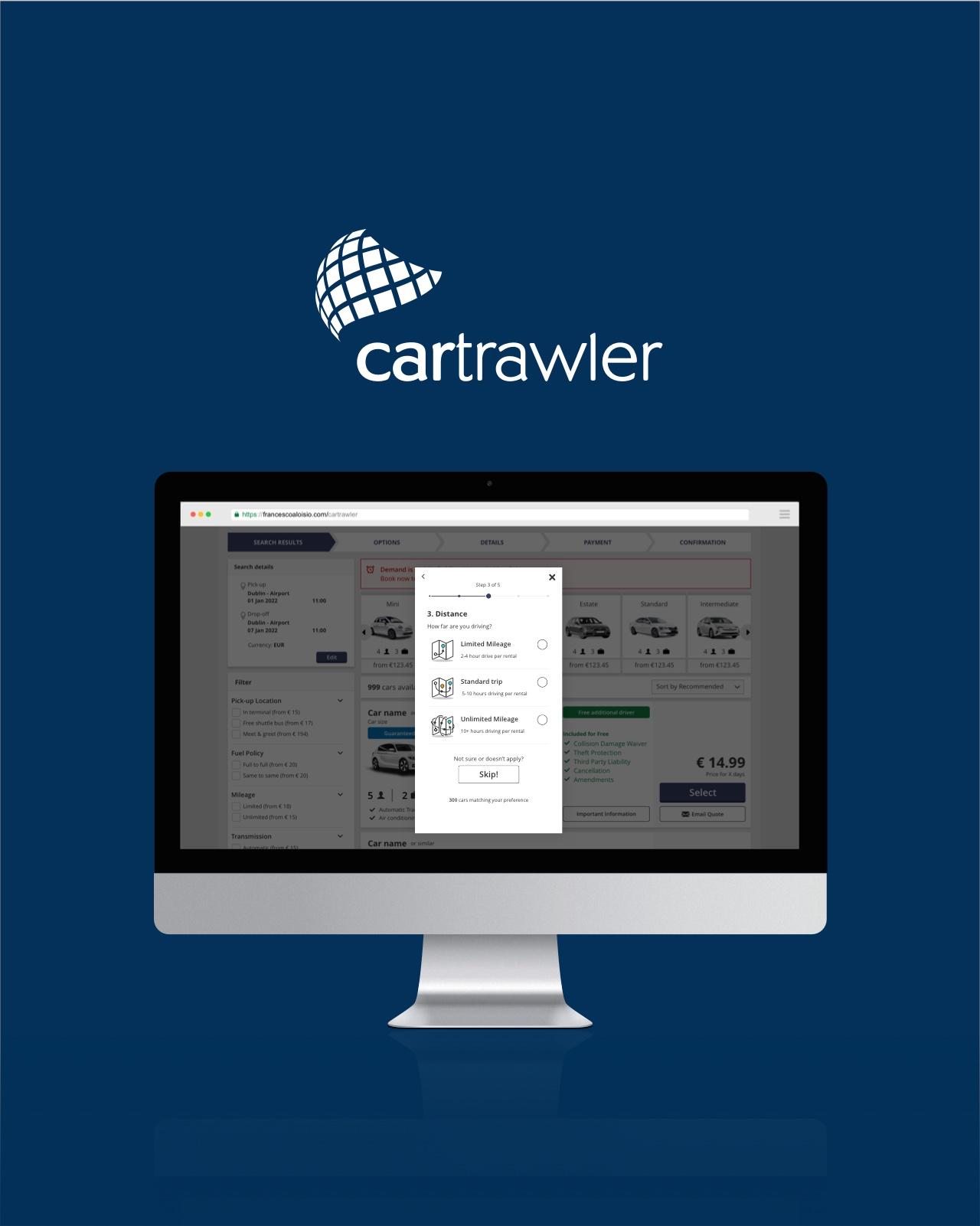 Cartrawler | filter feature design