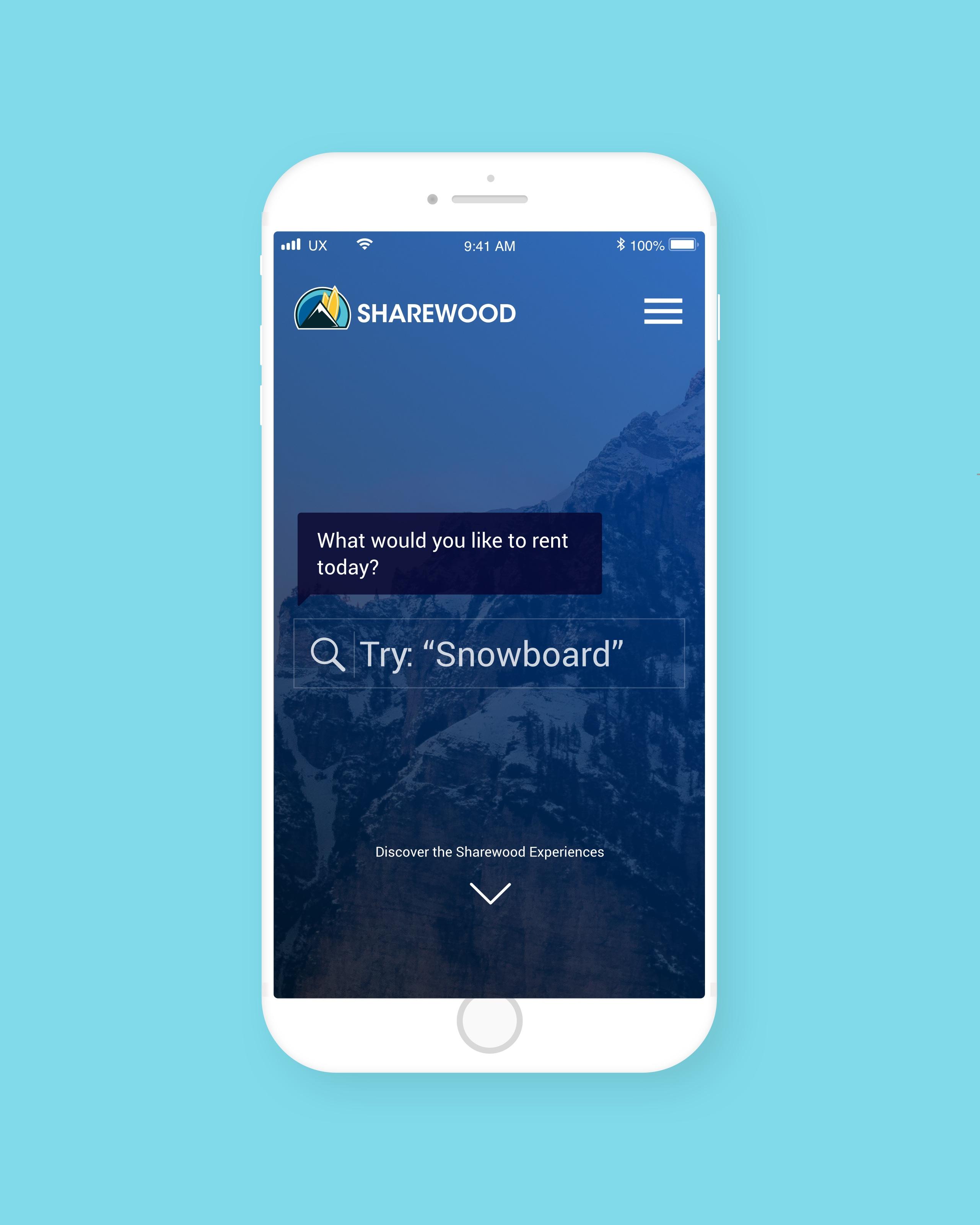 Sharewood.io | UX/UI workshop